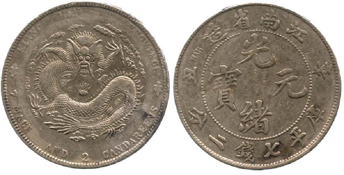 CHINA Silver Dollar CD 1901