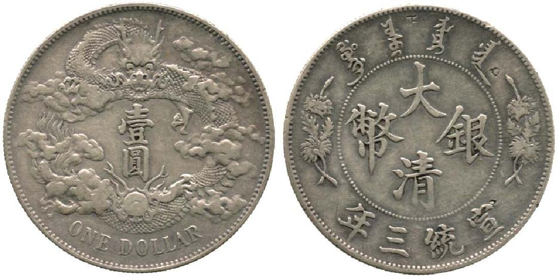 CHINA Empire: Silver Dollar Yr 3