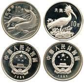 CHINA 10-Yuan Rare Animal Protection 1988