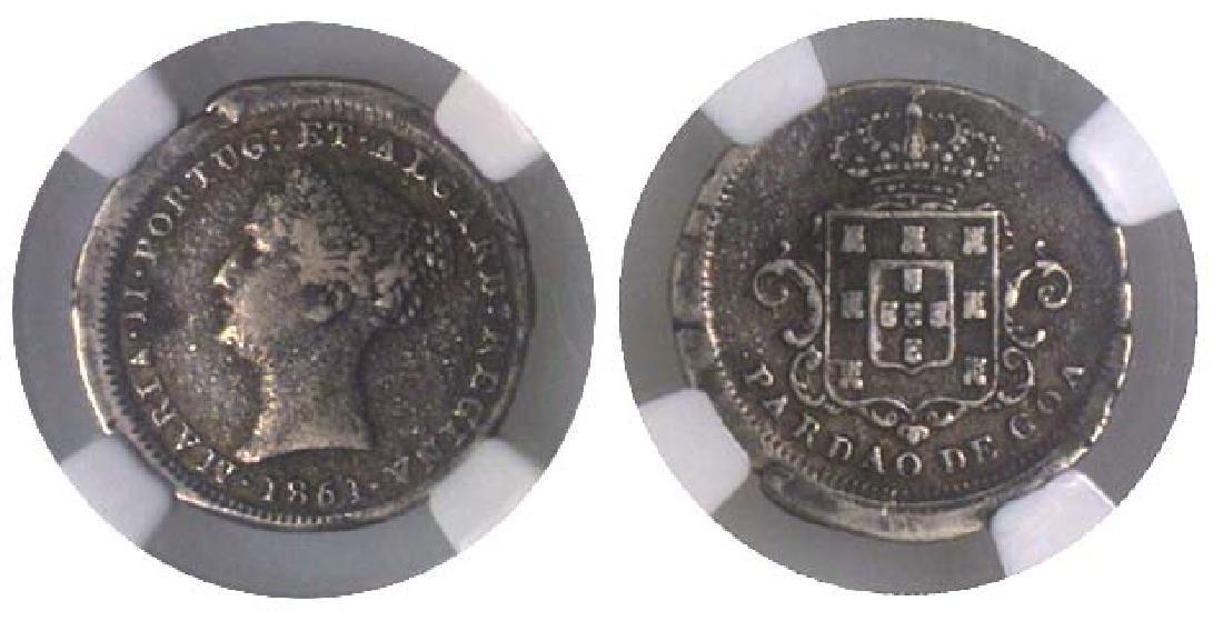 INDIA Pardau: 1851 Portuguese Goa