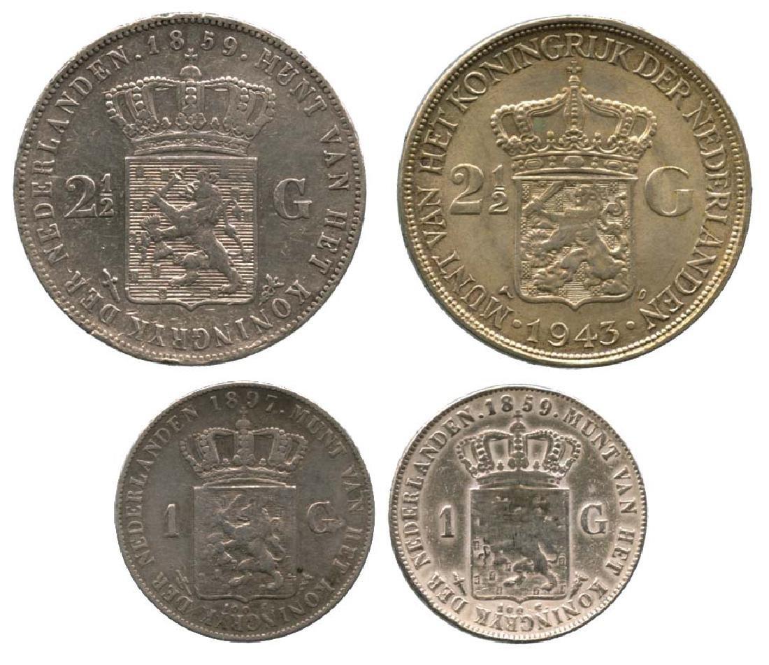 NETHERLANDS Wilhelmina: Silver