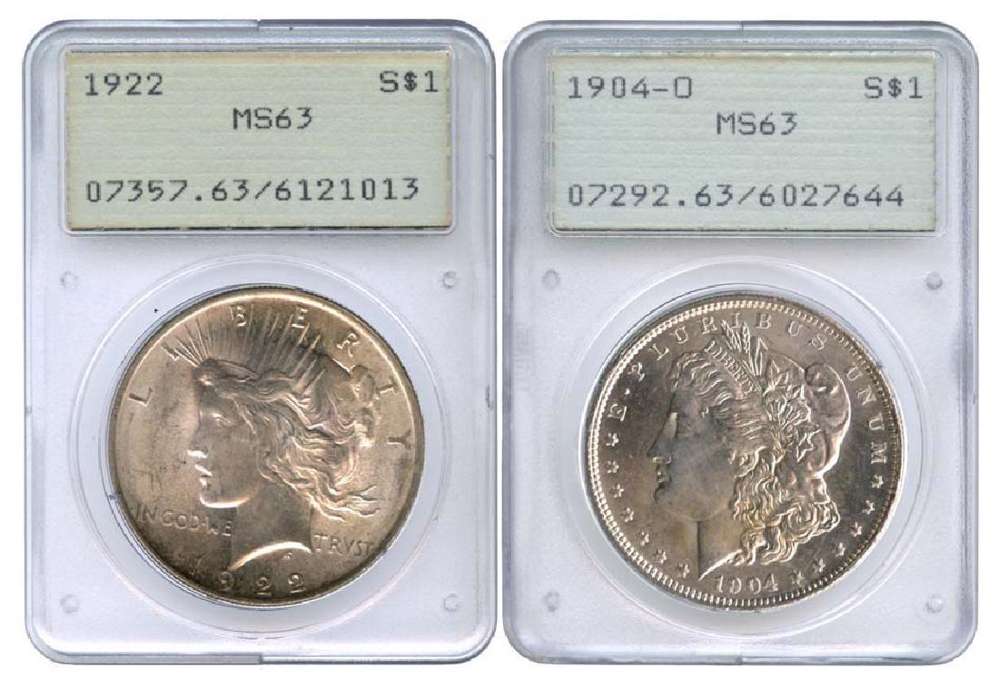 USA Silver: Morgan & Liberty Dollar