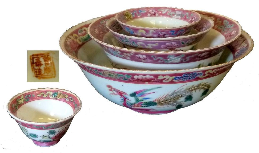 Peranakan: Crockery Bowls (set of 5)