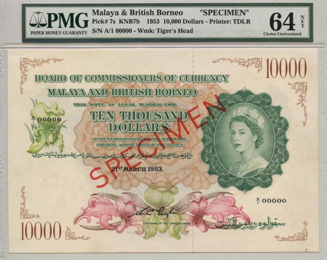 MALAYA & BRITISH BORNEO