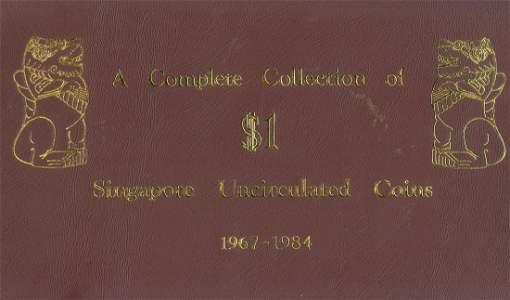 SINGAPORE Merlion Dollar 1967-1984