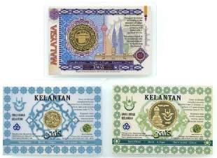 MALAYSIA Kelantan Gold Dinar