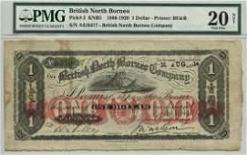 BRITISH NORTH BORNEO $1 A416417