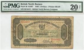 BRITISH NORTH BORNEO $5 H016412