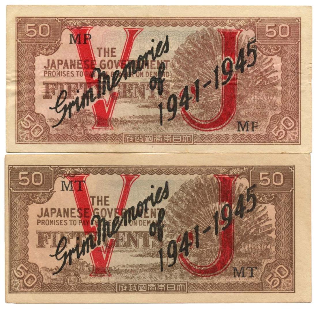MALAYA WWII: Propaganda Issue 50-Cents