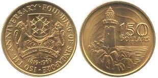 SINGAPORE Gold 150 18191969