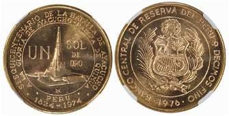 PERU Silver 1 Peso