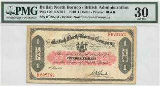 BRITISH NORTH BORNEO 1 1940 K622753