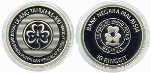 MALAYSIA Silver 100 Ann World Association of Girl