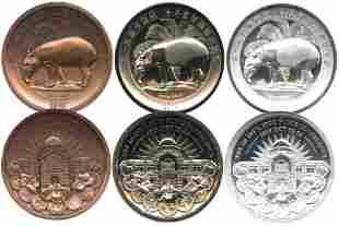 MALAYSIA Ipoh 1st Numis Conf 40mm Copper PF 70
