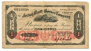 BRITISH NORTH BORNEO British Administration 1 1st