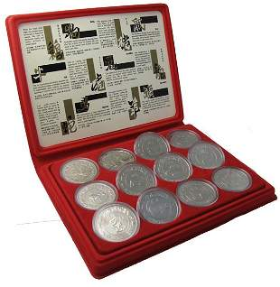 Complete Almanac $10 Series, 1981-1992, red case