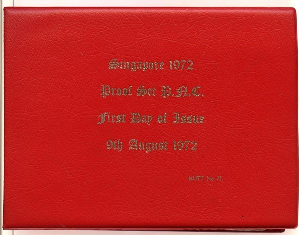 7: Proof Set: 1972. First day of issue, Only 200 sets