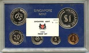 Proof Set: 1973. Mintage 1000.