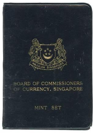 SINGAPORE Mint Set: 1969 (5 sets)