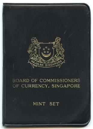 SINGAPORE - MODERNMint Set: 1, 5, 10, 20, 50-Cents & $1