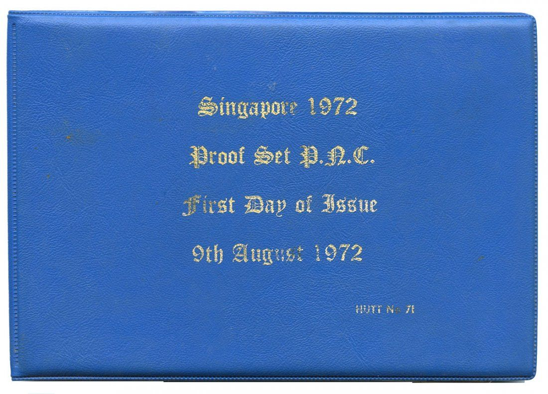 SINGAPORE - MODERNProof set: First Day of Issue 1972