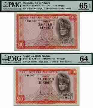 MALAYSIA - MODERN 1st Series RM 10, Sa-Puloh,