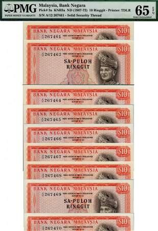 MALAYSIA - MODERN 1st Series: RM10, Sa-Puloh