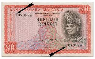 MALAYSIA - MODERN 2nd Series: RM10 Replacement note Z/3