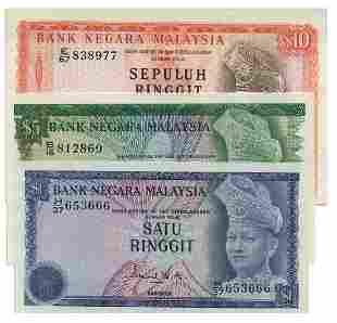 MALAYSIA - MODERN 3rd Series: Set of RM1 H/37 653666,