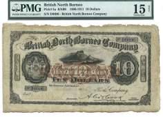 BRITISH NORTH BORNEO British North BORNEOCompany: $10
