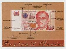 SINGAPORE PORTRAIT Identical Numbered Notes