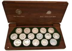 AUSTRALIA Silver: $5 2000 Proof Set