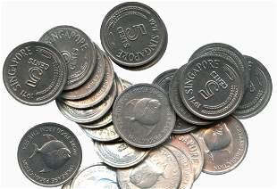SINGAPORE Aluminum: 5-Cents