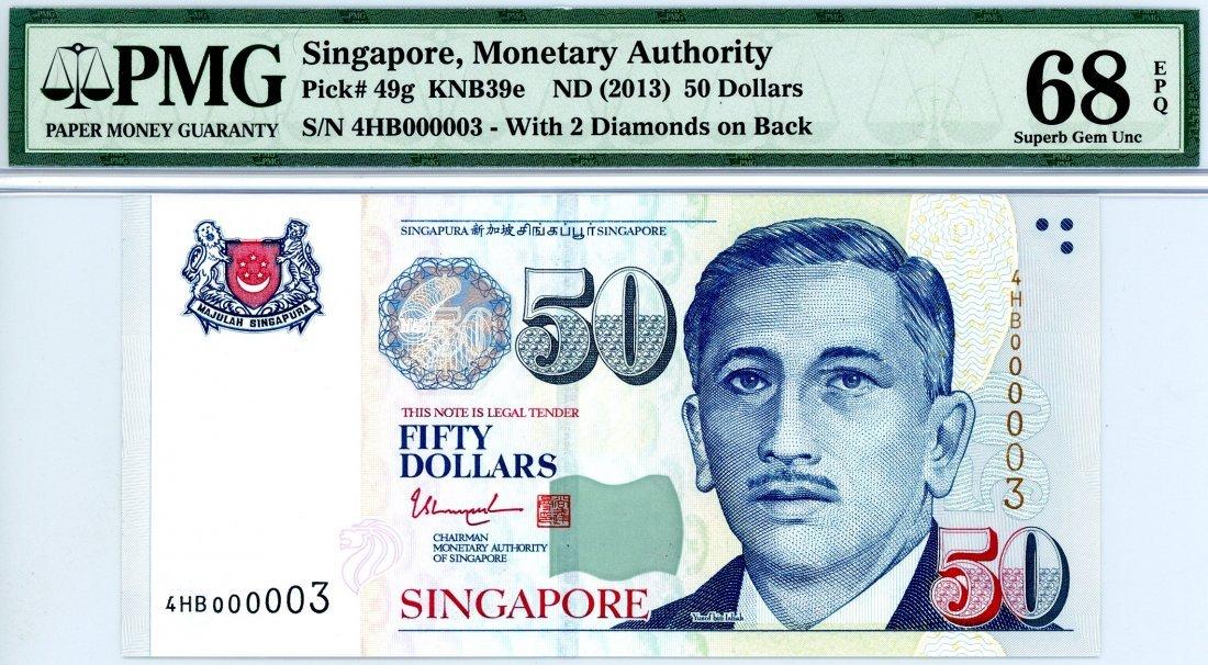 SINGAPORE  Portrait Series: $50  000003