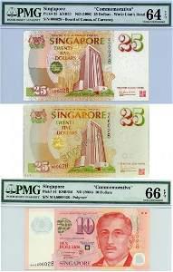 SINGAPORE Commemorative: $25 (1996) MAS25th Anniversary