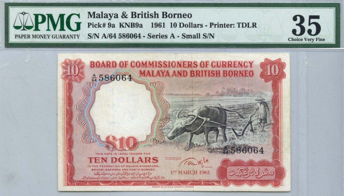 MALAYA & BRITISH BORNEO  $10  586064