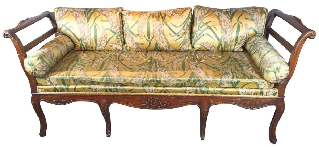 18th Century French Provincial Banquette