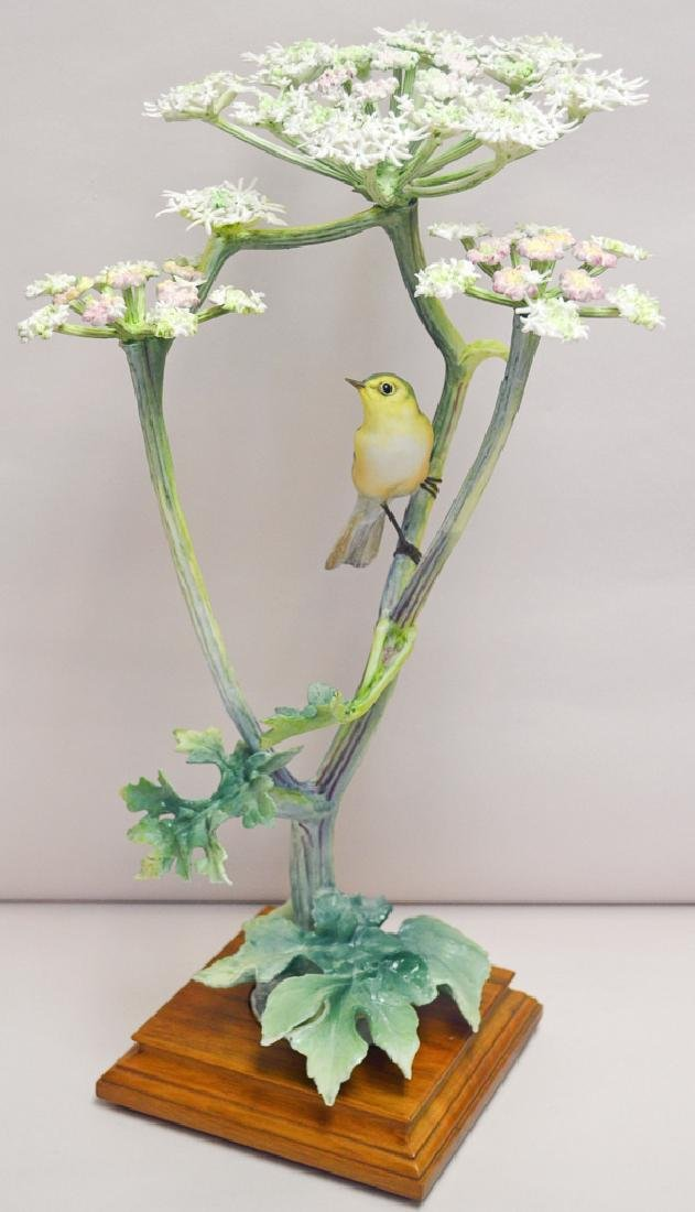 Dorothy Doughty, Chiffchaff On Hogweed