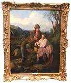 William Henry Midwood, (1867-1871 Active) Oil On