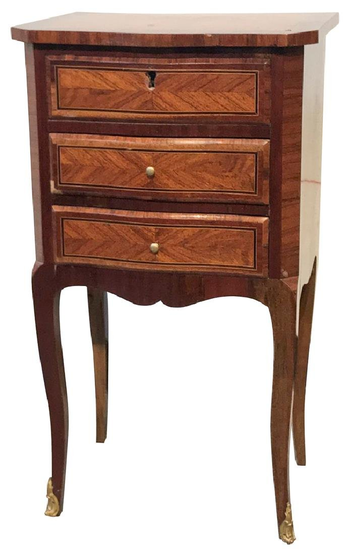 19th C. French Transitional Side Table