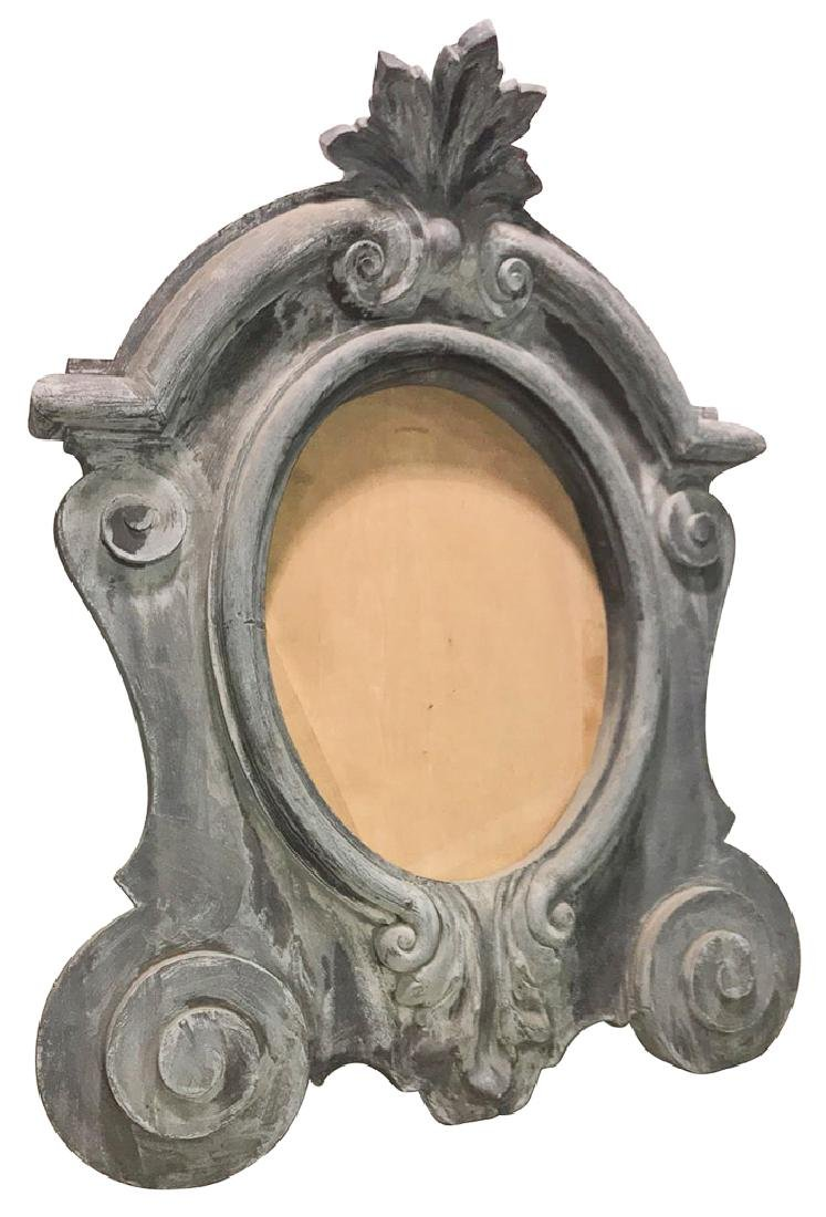 A Patinated Metal Or Possibly Zinc.  French