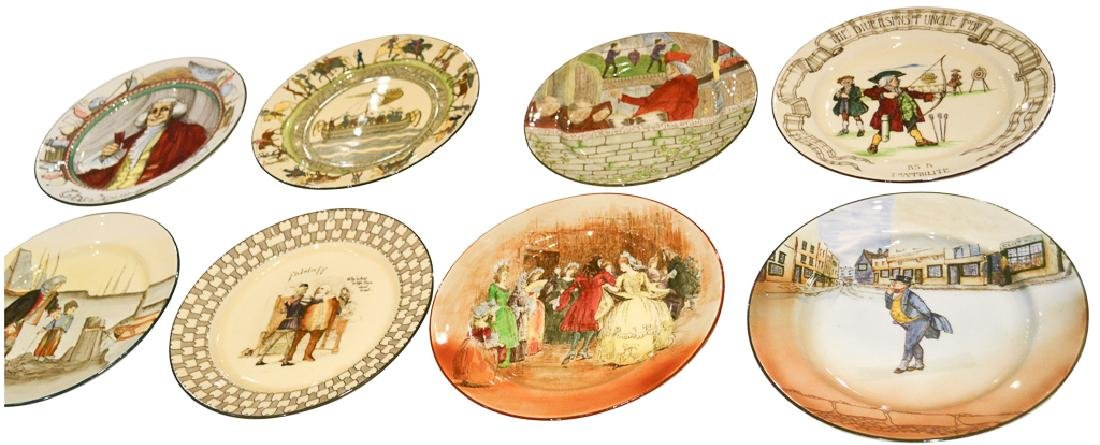 Set Of 8 Royal Doulton Plates