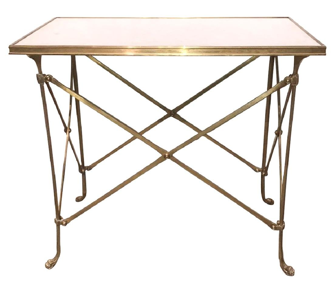 French Neo-classical Style Bronze Side Table
