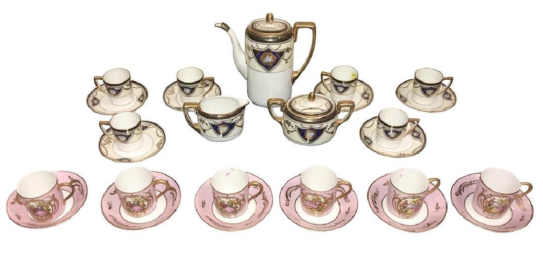 Nice Japanese Noritaki Demitasse Tea Set,