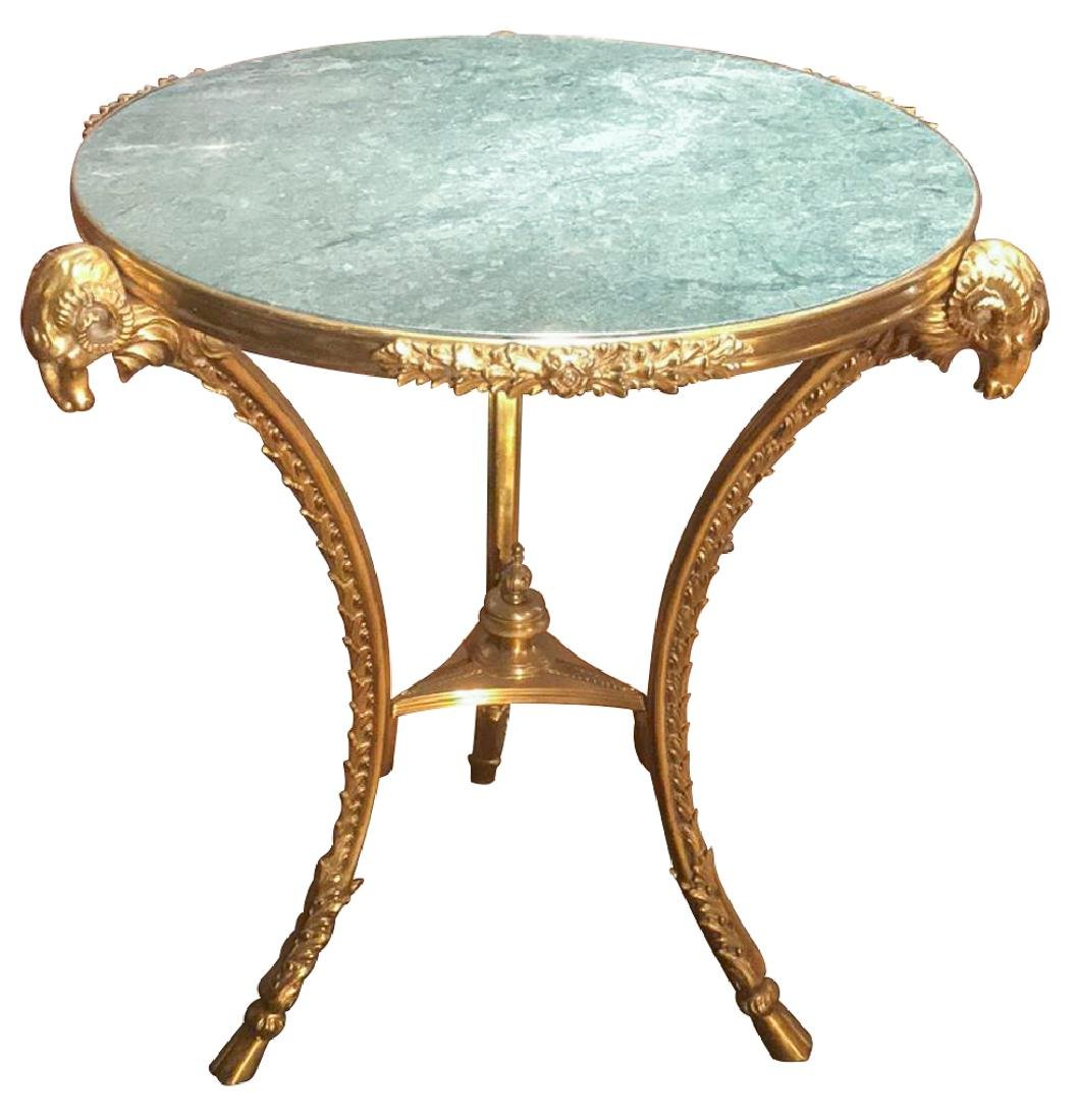 Fine Quality French Bronze Gueirdon Table With