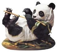 Boehm Porcelain Reclining Panda Bear