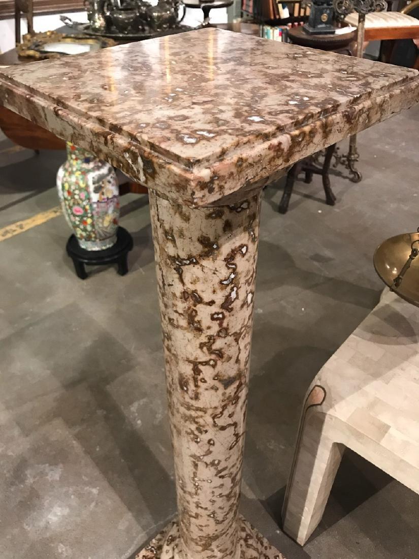 Unusual Marble Pedestal - 2
