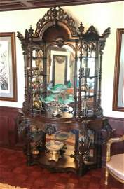 Exceptional Victorian Carved Etagere
