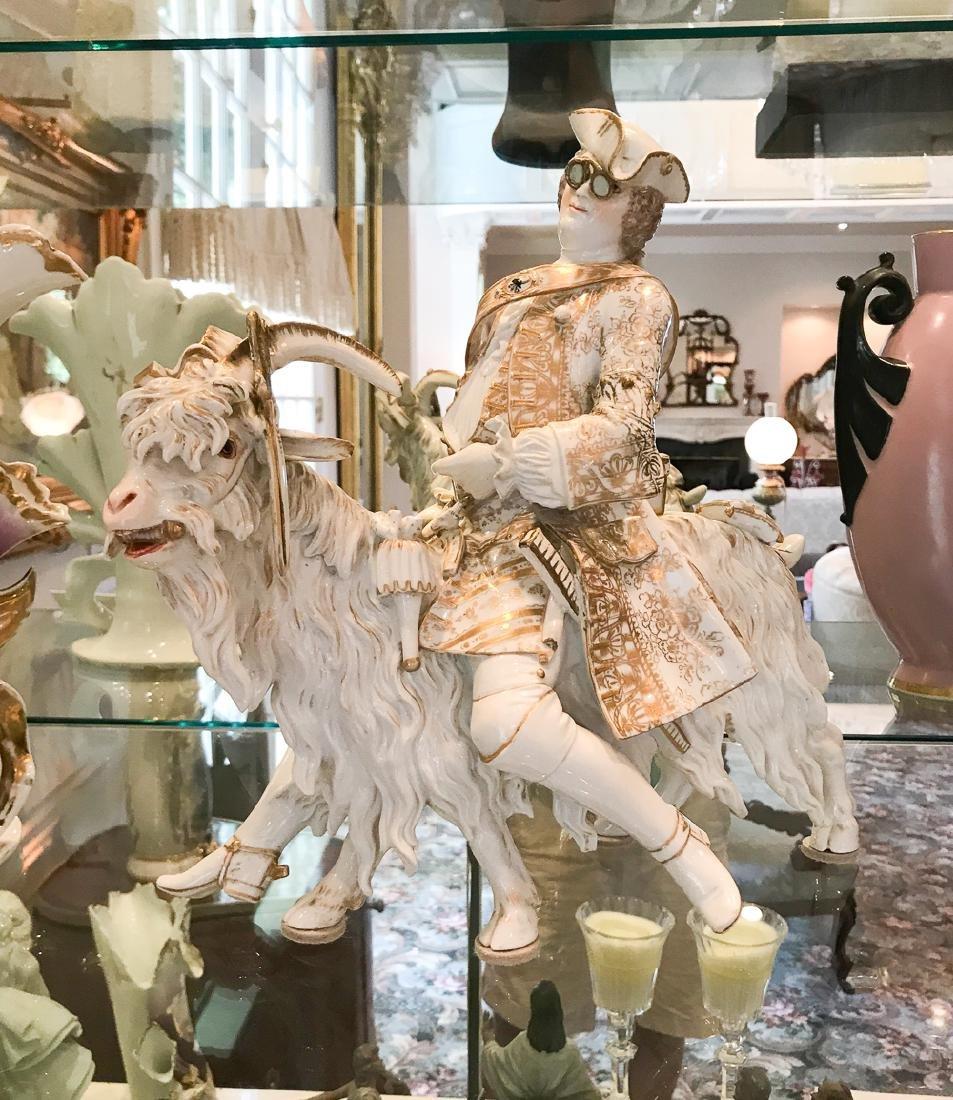 "Rare Volkstedt Porcelain ""tailor"""