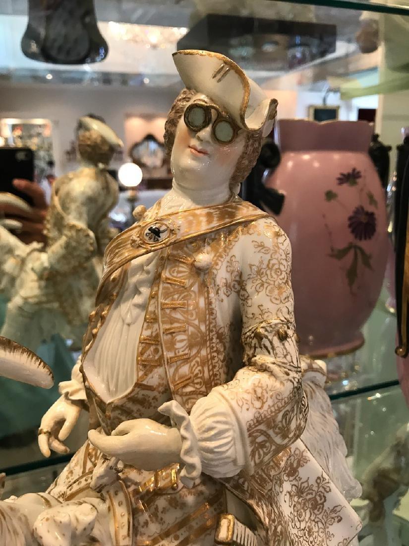 "Rare Volkstedt Porcelain ""tailor"" - 2"